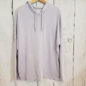Christopher&Banks lilac XL  hoodie